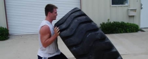 Flip to be tied: Why a tire can rid you of your exercise frustrations