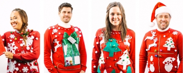 Sweating it out: Why the ugly holiday sweater is now trendy