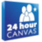 24HourCanvas.com logo