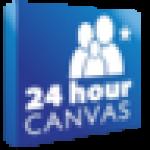 24HourCanvas.com logo