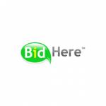 BidHere logo