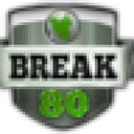 Break 80 Today logo