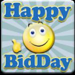 HappyBidDay logo
