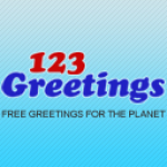 123Greetings Store logo