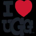 I Heart UGG logo