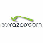 800razors.com logo