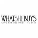 WhatSheBuys logo