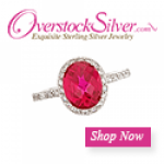 Overstock Silver logo