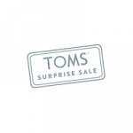 TOMS Surprise Sale logo