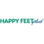Happy Feet Plus logo