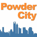 Powder City logo