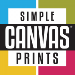 Simple Canvas Prints logo